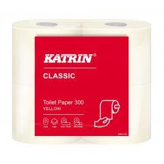 WC-Paperi Katrin Classic Yellow 300 104753