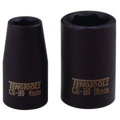 """Voimahylsy 1/4"""" ohutseinäinen Tengtools 9605-C"""