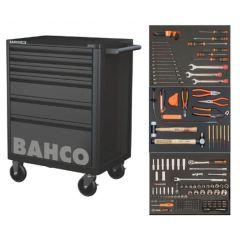 Työkaluvaunu 205-osainen Bahco 1472K6BKFF7SD