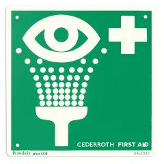 Jälkivalaiseva kilpi silmänhuuhtelu Cederroth 1740