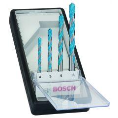 Monikäyttöporanteräsarja 4-osainen 4-8mm  Bosch2607010521