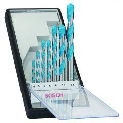 Monikäyttöporanteräsarja 7-osainen 4-12 mm Bosch2607010503