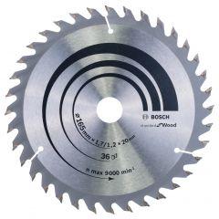Pyörösahanterä 165x20mm Bosch 2608642602