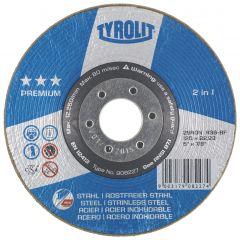 Hiomalaikka Tyrolit Premium Rondeller