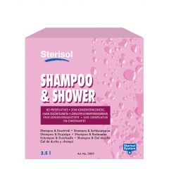 Suihkusaippua Sterisol Shampoo & shower