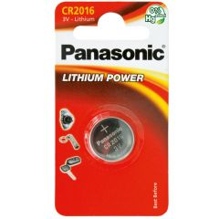 Litiumparisto CR 2016 Panasonic