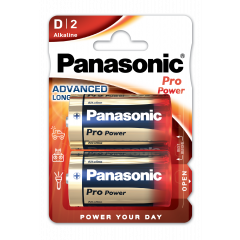 Alkaliparisto Pro Power D LR20 Panasonic