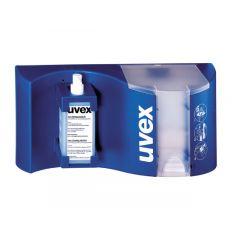 Puhdistusliina Uvex puhdistusasema, 0,5l täyttöpullo