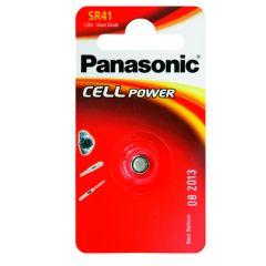 Nappiparisto hopeaoksidi SR41 Panasonic