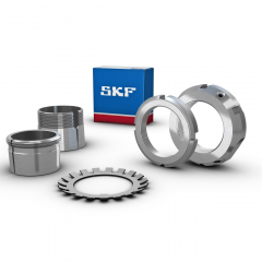 Akselimutteri lukitusruuvilla SKF KMFE